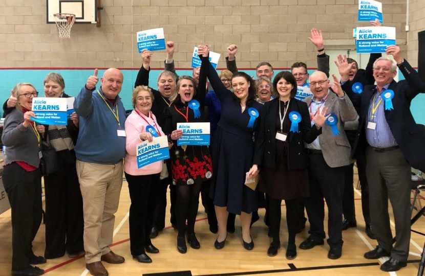 Alicia Kearns at Rutland and Melton Count