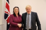 Alicia Kearns with Boris Johnson