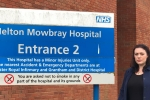 Alicia Kearns at Melton Mowbray Hospital